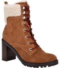 nine west women's medium perli heeled booties women's shoes