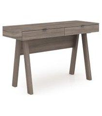 mesa para escritório tecno mobili me4128 marrom