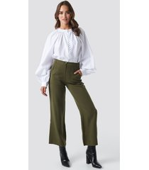 trendyol pocket detailed pants - green