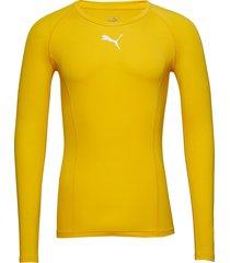 liga baselayer tee ls t-shirts football shirts gul puma