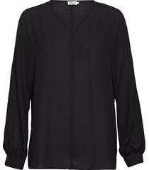 riley blouse blouse lange mouwen zwart filippa k