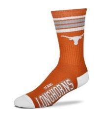 for bare feet texas a & m aggies youth 4 stripe deuce crew socks