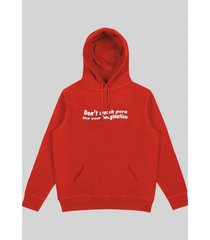bluza don't watch red hoodie