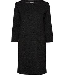 kavally dress knälång klänning svart kaffe