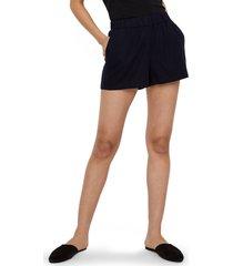 women's vero moda helen shorts, size small - blue