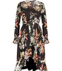 colourful rebel jurk zwart 8222