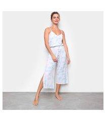 pijama cor com amor pantacourt feminino