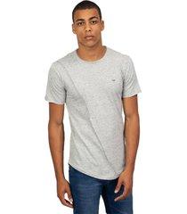 camiseta masculina detalhe diagonal cinza - cinza - masculino - dafiti