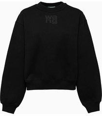 alexander wang foundation terry sweatshirt 4cc3211285