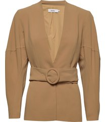 botan jacket blazers business blazers beige stylein
