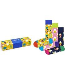 happy socks men's easter gift box socks, pack of 3