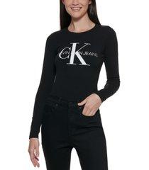 calvin klein logo bodysuit