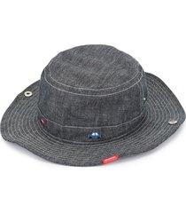 familiar denim hat - blue