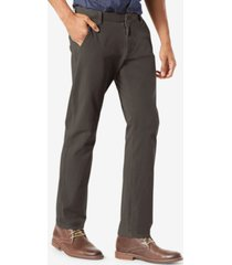 dockers men's alpha smart 360 flex slim tapered fit khaki stretch pants