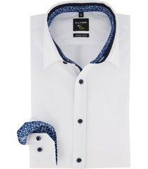 mouwlengte 7 overhemd olymp no.six wit