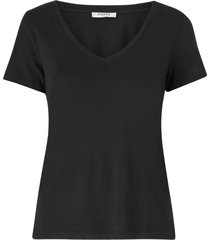 topp pclucy ss v-neck top