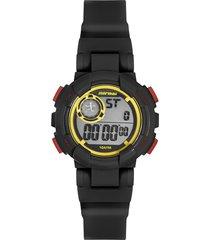 relógio digital mormaii feminino - mo1800aa/8p preto