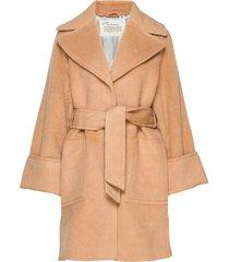 caught you looking coat wollen jas lange jas beige odd molly