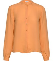 adele blouse blus långärmad orange filippa k
