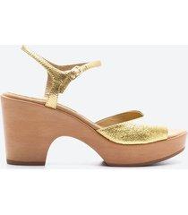 sandalia casual mujer unisa shoes sduo amarillo