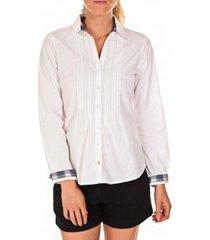 overhemd tom tailor chemise beatrix blanche