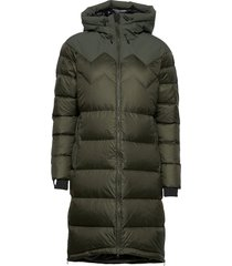 ws cocoon down coat fodrad rock grön mountain works