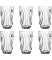 conjunto de 6 copos bretagne em cristal ecológico 355ml full fit
