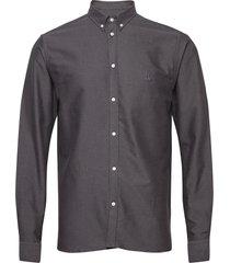 christoph oxford shirt overhemd casual zwart les deux