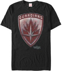 marvel men's guardians of the galaxy vol. 2 drax guardians shield short sleeve t-shirt