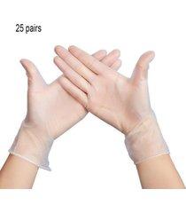 guantes desechables transparentes powder-free guantes protectores de procesamiento de alimentos