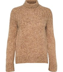 pinea knit t-neck turtleneck coltrui bruin second female