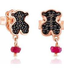 aretes motif rosa tous 314933500 - superbrands