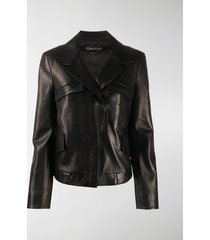 tom ford classic leather jacket