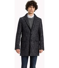 saco gris tommy hilfiger donegal coat