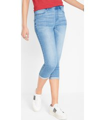 comfort stretch capri jeans
