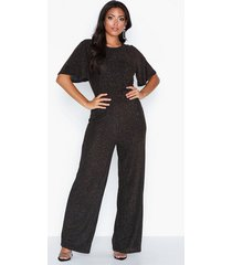 vila vidance s/s jumpsuit jumpsuits