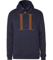 les deux encore hoodie dark navy