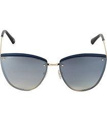 62mm cat eye sunglasses