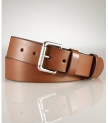 polo ralph lauren men's casual leather belt