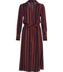 slhalima dress knälång klänning röd soaked in luxury