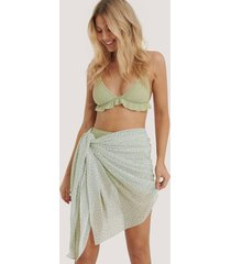 na-kd swimwear sarong - green