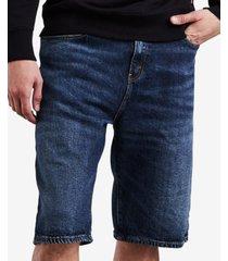 """levi's men's big & tall 569 loose fit denim 12"""" shorts"""
