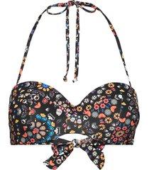 biki bahamas bikinitop svart desigual