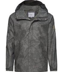 raglan jacket dun jack grijs makia