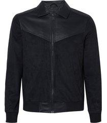 jaqueta john john nick couro fake preto masculina (preto, gg)