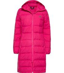 w helionic park gevoerde lange jas roze adidas performance