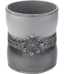 avanti braided medallion granite wastebasket bedding