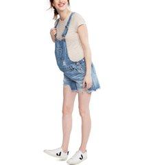 ripe maternity denim overalls