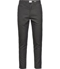 club pants checked kostymbyxor formella byxor grå lindbergh
