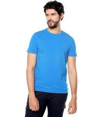 camiseta azul turquesa nautica